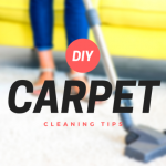 DIY carpet cleaning