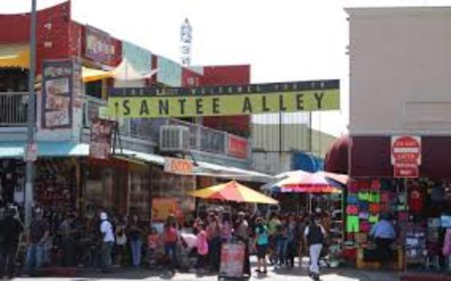 Los Angeles, Santee Alley